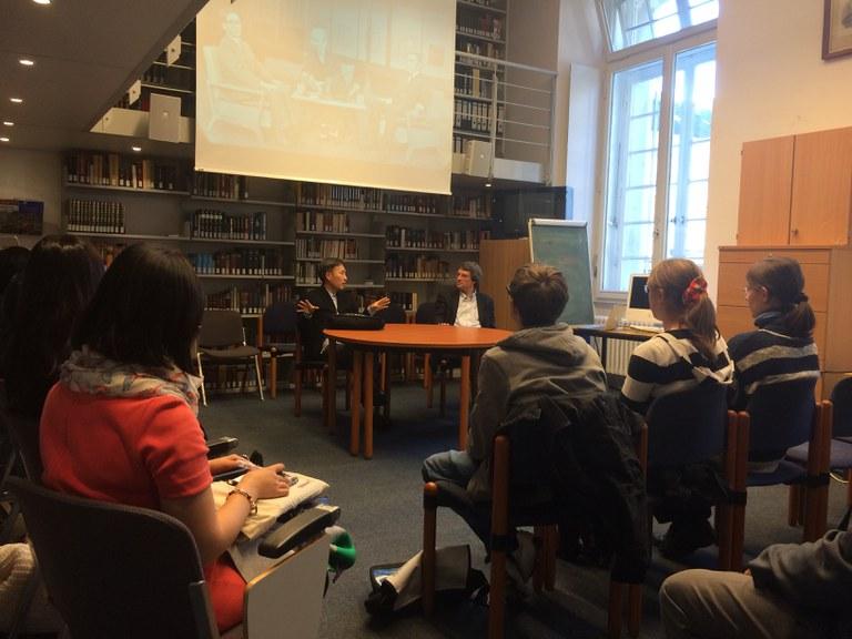 Workshop mit dem Autor Ono Masatsugu