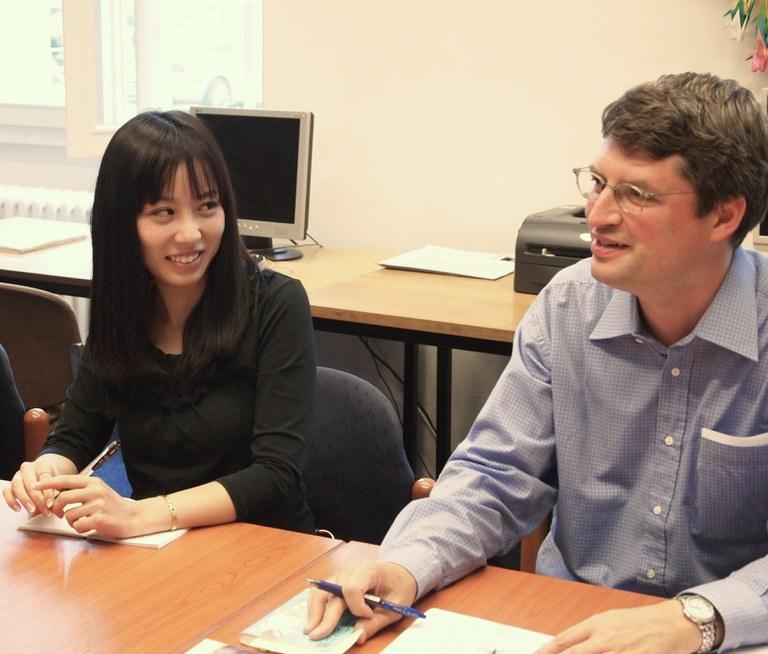 Workshop mit der Autorin Wataya Risa