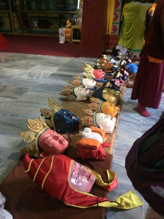 Tibet und Himalaya Colloquium - Tibetan masks.jpg